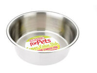 Classic Stainless Steel Dinking & Feeding Bowls