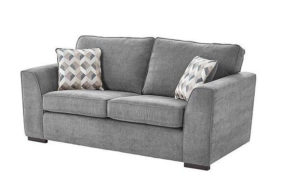 Boston 2 5 Seater Dark Grey Sofa Brand New