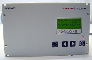 Pfeiffer Vacuum TCM 1601 Turbo Pump Magnetic Bearing Controller, PM C01 677