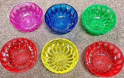 EF  Kompottschälchen 6x Kompottschale Dessertschale Plaste Kantine Schale H