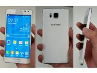 SAMSUNG GALAXY ALPHA ,16GB WHITE,FACTORY UNLOCKED,GOOD CONDITION