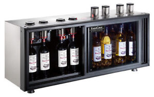 Cellier a vin au verre commercial Eurocave Sowine Pro Vaut 8000$