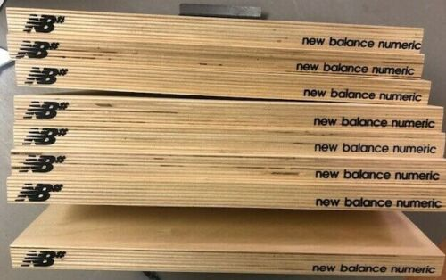 NEW BALANCE NB# WOODEN SHELFS SKATEBOARD 8 PIECES (FREE SHIPPING)