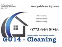 Professional window cleaning services - Guildford