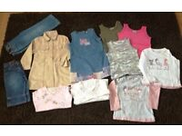 Large Bundle Of Girls Next Clothes (suitable for ages 3-4)