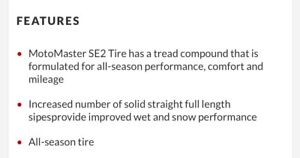 215/70R15 set of 4, Like New.