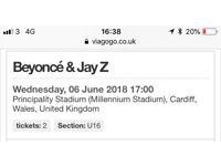Jay z and Beyoncé tickets