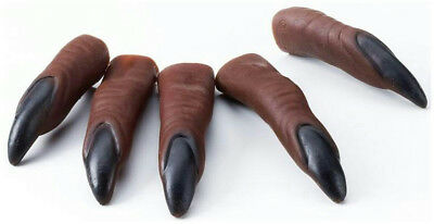 Werewolf Claws (Brown Werewolf Claw Fingers Tips 10)