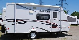 2012 Trail Sport by R-Vision 18' hybrid travel trailer, new cond