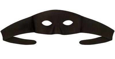 Highwayman Eye Mask Robber Thief Man Halloween Fancy Dress Costume MASK