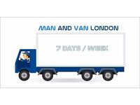 Man and Van Hire House Office Removals London House Moving, Piano Movers, Man Van Rubbish Clearance