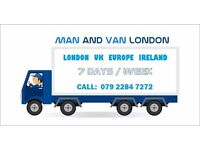 Low Cost Man and Van Removals London House Office Packing Moving Clearance Piano Movers Man with Van
