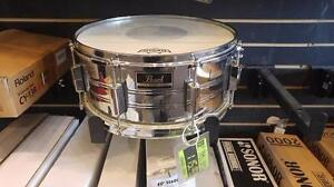 """Pearl Export caisse claire-snare chrome 14""""x6.5"""" - usagée/used"""