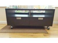Ikea Besta Jagra TV unit / bench on castors