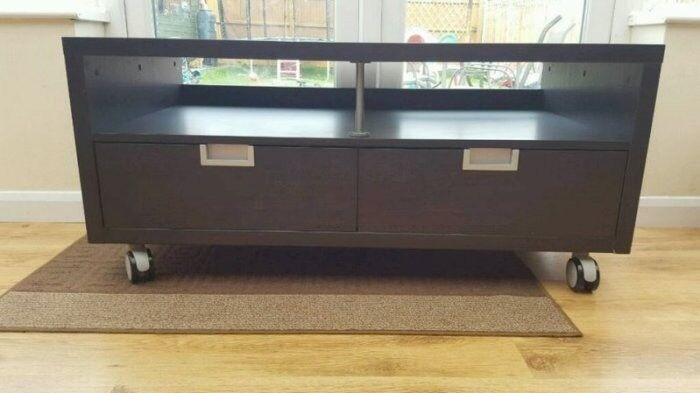 Ikea Besta Jagra Tv Unit Bench On Castors In Murrayfield Edinburgh