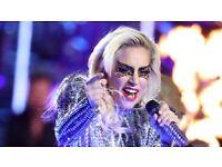 Lady Gaga World Tour London Tickets x 2