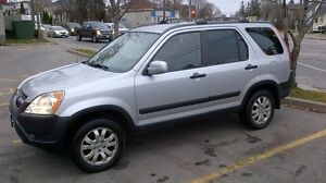 2002 Honda CR-V with LEATHER