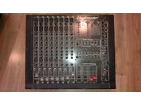 studiomaster power house 8-2 powered mixer