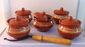 Clay Casserole Pots Oven Fork (Brand New!)