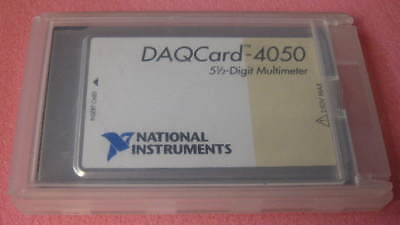 Ni Daqcard-4050 5-12 Digit Multimeter National Instruments Pcmcia Dmm 1 Each