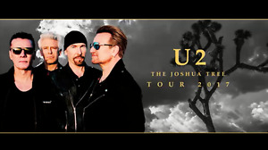 U2 Tickets Vancouver Qty 4 (or 2+2), Section 401, Seats 1 to 4