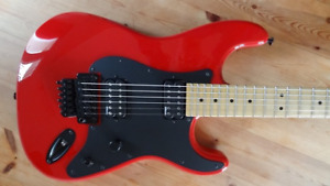 Guitare Charvel So-Cal HH style 1 Rocket Red MIJ