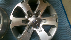 Set of mint condition 2011 F-150 FX4 wheels 6x135 mm