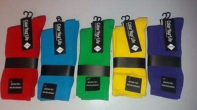 1/5 Paar Anzug Socken  Anzugsocken Buisiness Color Farbige Socken Bunte Socken
