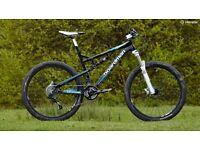 Boardman 2015 full suspension mountain bike