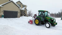 PAUL'S SNOW REMOVAL - CALL FOR AN ESTIMATE TODAY!   613 360 7285
