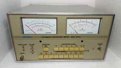 Meguro Automatic Distortion Meter Mak-6571c