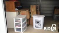 A lot of boxes,Storage containers and furnitures and more for sa
