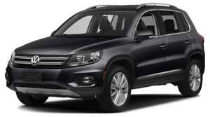 2017 VW Tiguan Wolfsburg Edit. Minivan - lease takeover/Buyout