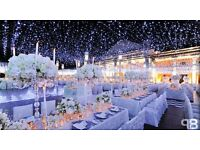 We Sell Wedding Decor - Chair Covers - Organza Sashes - Table Runners - Water Beads - Table Scatter