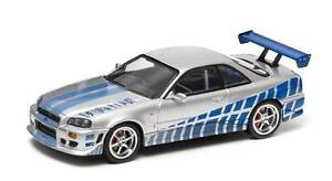 Fast & Furious - Brian's 1999 Nissan Skyline GT-R - 1:43 scale Killarney Vale Wyong Area Preview