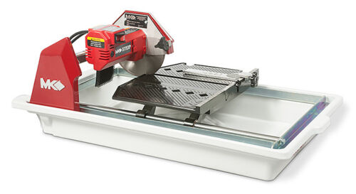"NEW MK DIAMOND  MK-377EXP 1/2"" HP,  7"" WET CUTTING TILE SAW"