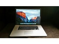 "17"" Macbook Pro - 1tb hard drive 2009"