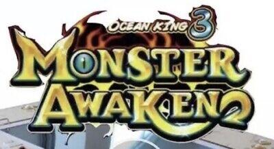 Ocean King 3 -MONSTER AWAKEN- SKILL FISH TABLE GAME
