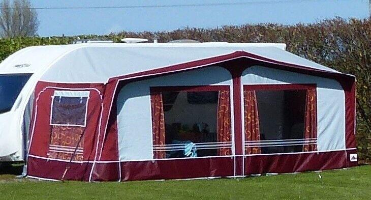 Dorema Montana Acrylic Bordeaux Full Caravan Awning, size ...