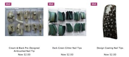 $2 Acrylic Nail Tips - Mega Clearance