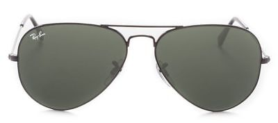Ray-Ban Herren Damen Sonnenbrille RB3025 L2823 58mm Aviator Large Metal G M7