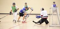 Anyone playing ball hockey in Bridgewater?