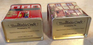 VINTAGE TEA TIN THE TINSMITH'S CRAFT. ANNÉE 1980 Gatineau Ottawa / Gatineau Area image 5
