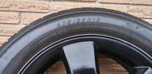 Good rims and tires for sale.