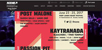 NXNE - Port Lands Music Festival VIP Tickets For Sale