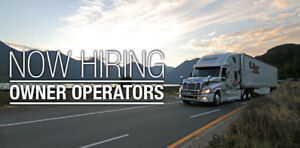 Now Hiring Owner Operators - Great Rates