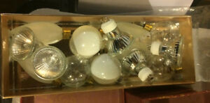 Speciality Light Bulbs- variety   (all for $10)