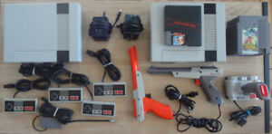 NES Nintendo Video Game Systems/Games/Controllers Lot!