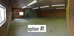 Cold storage available, various options