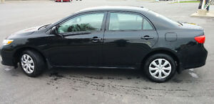 2010 Toyota Corolla CE Sedan: clean, low KM, remote start